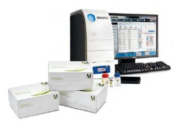 Рис.61. Комплект оборудования на платформе Luminex для проведения мультиплексного анализа.
