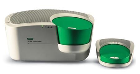 Рис.70. Система кцПЦР QX200 QX200 Droplet Digital PCR System. Ридер капель (слева) и генератор капель (справа).